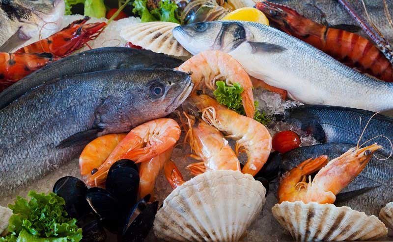 bảo quản cá tôm hải sản