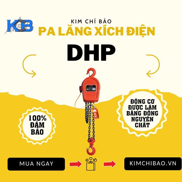 pa lăng xích điện có bán tại công ty Kim Chí Bảo